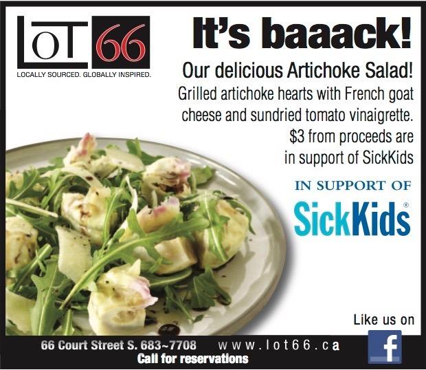 Lot 66 / Artichoke Salad Special